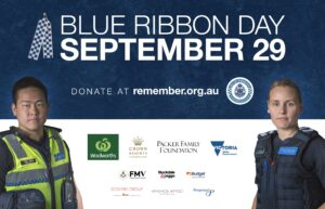 Victoria Police Blue Ribbon Day