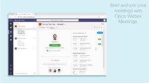 Cisco Webex Meetings in Microsoft Teams